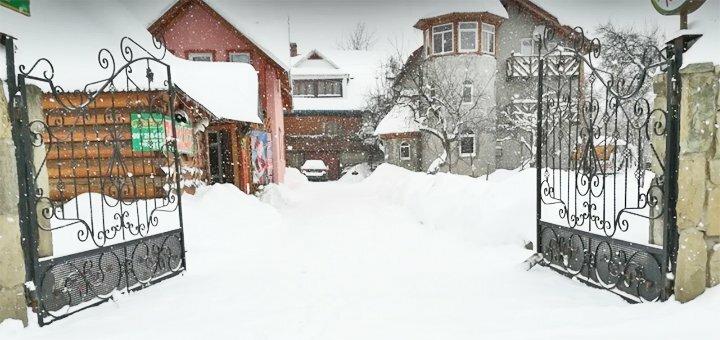 От 3 дней отдыха зимой с питанием в усадьбе «Юрта» в Татарове