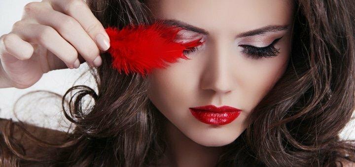Профессиональное наращивание ресниц в мастерской красоты «Твої очі»