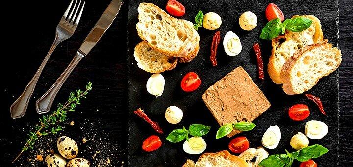 Максимальная скидка 50% на все меню кухни в ресторане европейской кухни «Public Cafe»