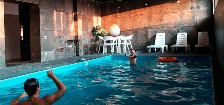От 2 дней зимнего отдыха в будни с бассейном «Morewell» на берегу Киевского моря