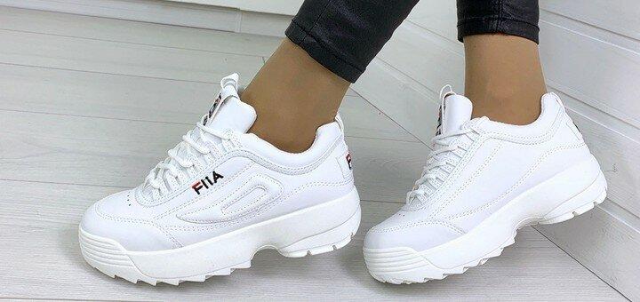 Скидки до 46% на женские зимние кроссовки и ботинки