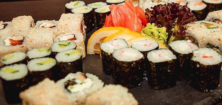Знижка 40% на суші сети від служби доставки «Tykami»