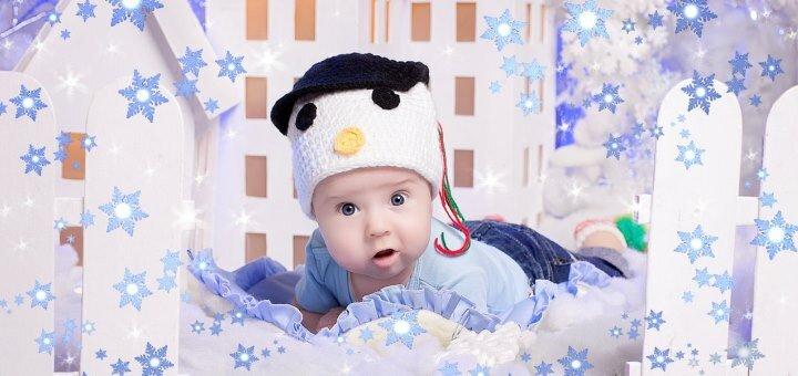 Студийная фотосессия «Новогодняя феерия» от фотостудии «Art Home Photography»
