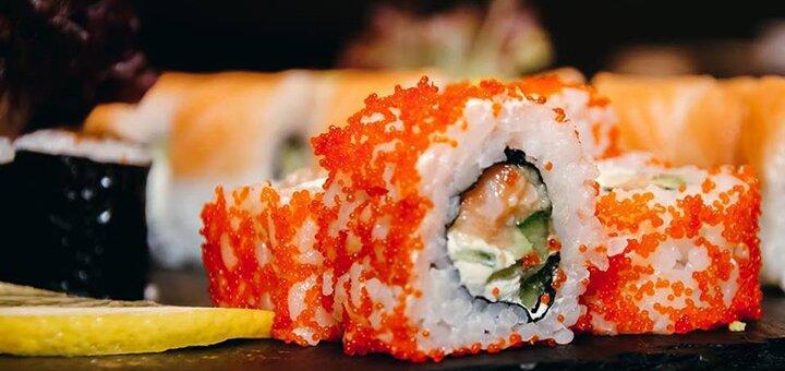 Знижка 40% на суші-сети, wok та салати в ресторані «Tykami»
