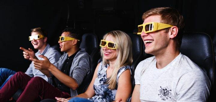 Скидка до 62% на просмотр фильма на 7D аттракционе в ТРЦ «Французский Бульвар»