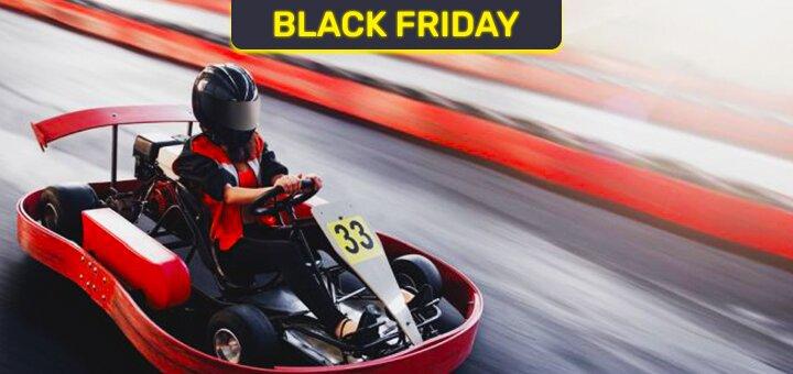 Скидка 75% на 15 заездов на закрытом картинге «Rider Kart»