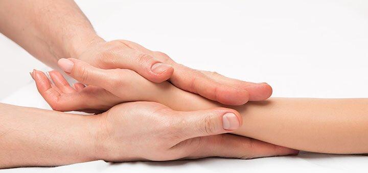 До 5 сеансов массажа рук от массажиста Натальи Талызиной
