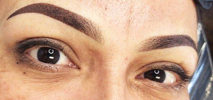Перманентный макияж бровей, губ и век в студии красоты «Promenade beauty studio»