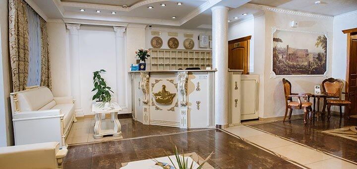От 4 дней SPA-отдыха с полным пансиономи оздоровлением в отеле «Золотая Корона» в Трускавце