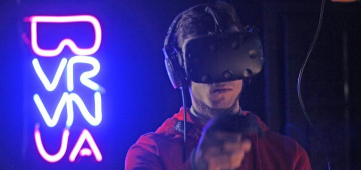 Скидка 50% на игру в клубе виртуальной реальности «VR.VN.UA»