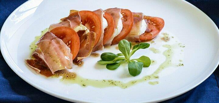 Сертификаты на ужин с безлимитным итальянским вином в ресторане итальянской кухни «Al-dente»