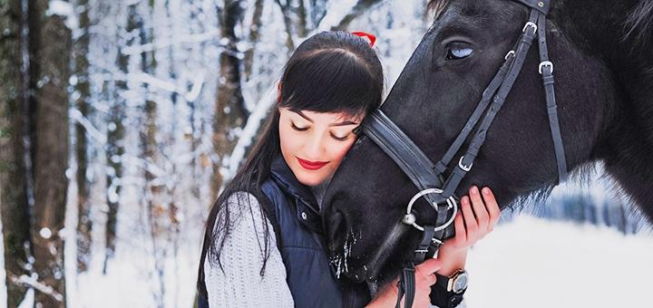 Скидка 50% на прогулку на лошадях от конно-спортивного клуба «Jokkey»