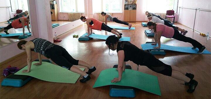 До 36 занятий фитнесом и 4 персональных тренировки в фитнес-студии «Комфорт»