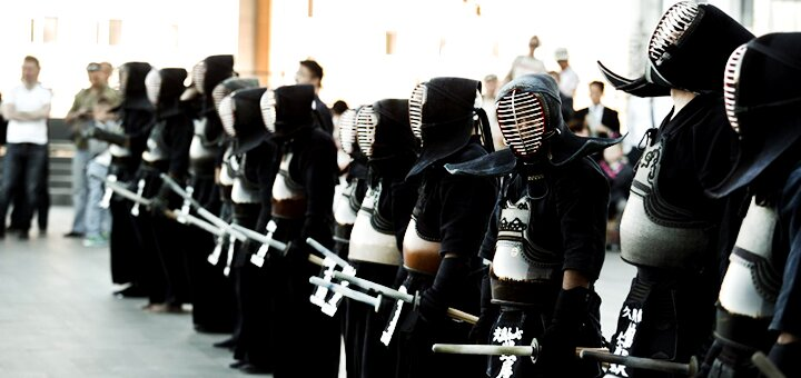 До 3 месяцев занятий по кендо в школе боевых искусств «Kendo Shidokan»