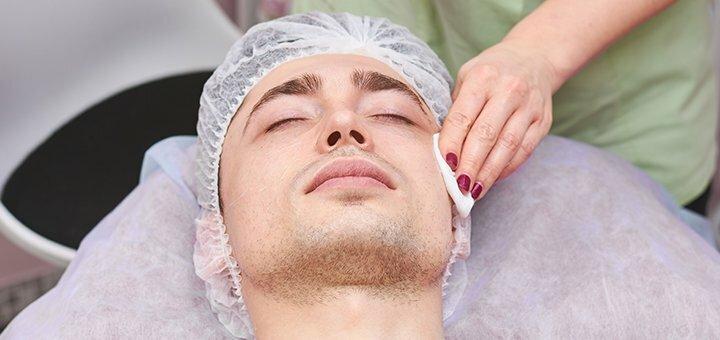 Комплексная чистка лица для мужчин в кабинете красоты «Dr. Gurskaya-Fedotova»