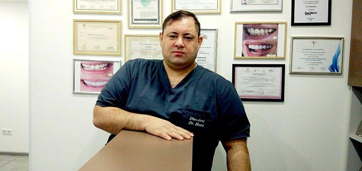 УЗ чистка зубов, Air-Flow и полировка в клинике «Diva Dent»
