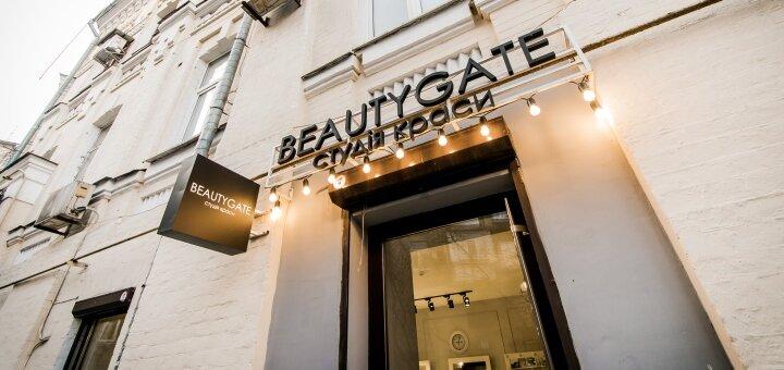 Мужская стрижка c укладкой в салоне красоты «Beautygate»