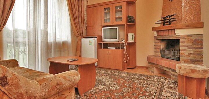 От 3 дней зимнего отдыха для двоих в отеле «Виан» в Трускавце