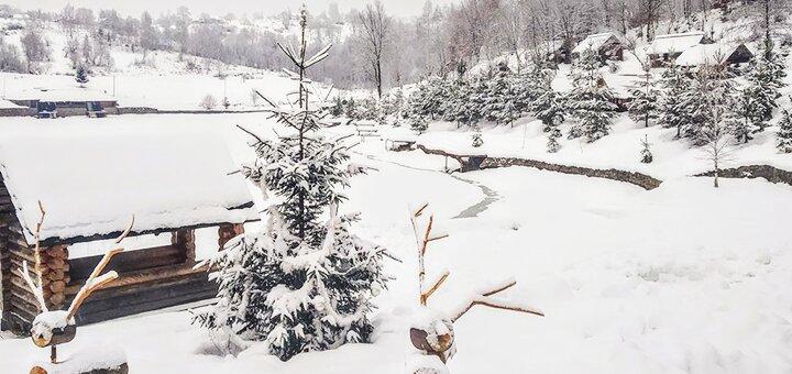 От 4 дней отдыха на Новый год с питанием в усадьбе «Турянський Двір» в Закарпатье