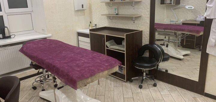 Татуаж бровей, пудровые брови с коррекцией в центре международной медицины «ОдИндМед»