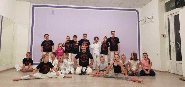 До 2 месяцев групповых занятий каратэ для детей или подростков в «Pegas-club KIEV Karate»