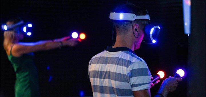 Скидка 50% на игру в клубе виртуальной реальности VR «AltzGamer»