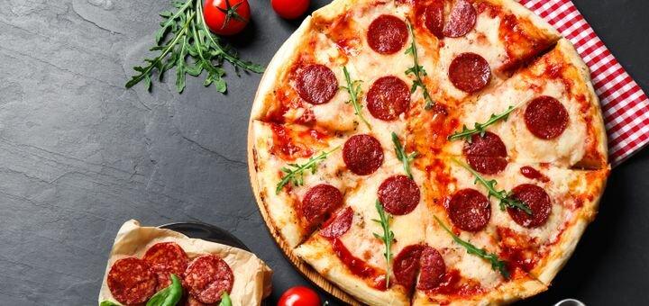 Скидка 50% на меню пиццы в сети пиццерий «Pizza House»