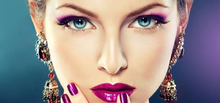 Профессиональный макияж в студии красоты «Elegance Beauty»
