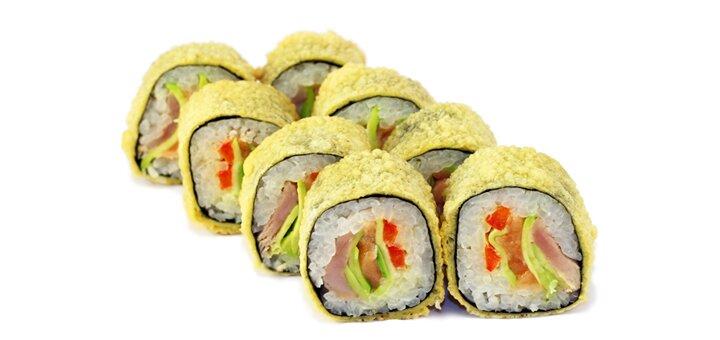 Скидка 60% на все меню кухни службы доставки суши «Японика»