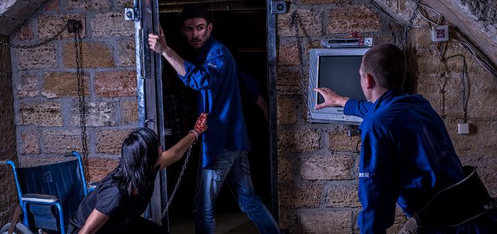 Посещение квест-комнаты «Пила: Игра на выживание» от компании «QZone»