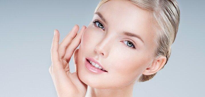 Комбинированная чистка лица с лечебной маской в салоне красоты Юрченко Лилии Игоревны