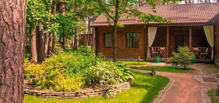 От 1 дня отдыха в будние дни в загородном комплексе «Чудодієво» в Житомирской области