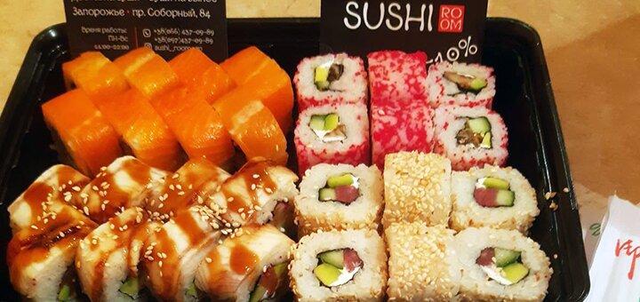 Скидка 50% на все меню японской кухни от суши-бара «Sushi Room»