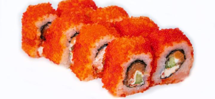 Скидка 50% на суши-сеты и удоны от службы доставки «Seiko»