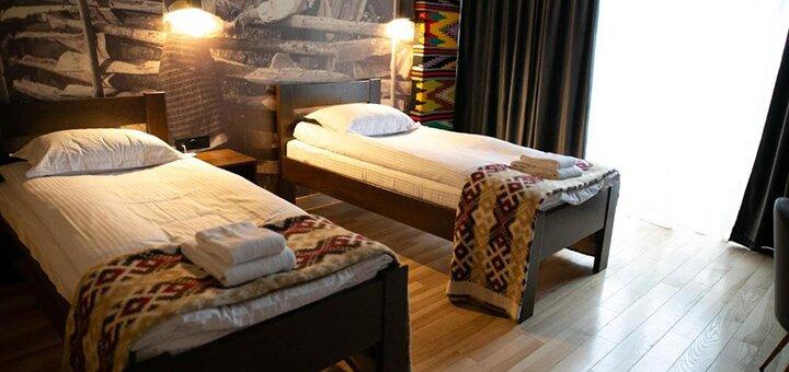 От 3 дней горнолыжного отдыха с завтраками в отеле «Гора» в Буковеле