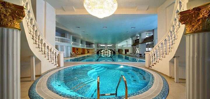 От 3 дней отдыха в отеле «Royal Promenad Hotel» с пакетом «All SPA» в Трускавце