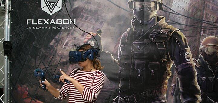 Прохождение квест-игры в клубе VR-квестов «Flexagon»