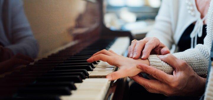 До 8 индивидуальных или парных занятий по обучению игры на фортепиано в «Brevis music school»
