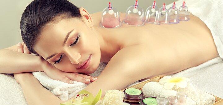 До 10 сеансів антицелюлітного або баночного массажу в салонi краси та естетичної косметологі