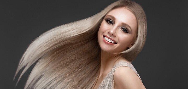 Кератиновое выпрямление или блеск волос со стрижкой и укладкой от Игоря Малашкевича