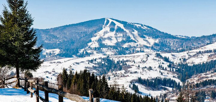 От 3 дней отдыха зимой и весной в отеле «Дзвінка» в Славском