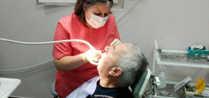 Скидка 51% на LED-отбеливание зубов и ультразвуковую чистку зубов в клинике Доктора Бондарука
