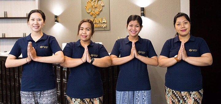 Балийский традиционный массаж в spa-салоне «Sayana Bali Spa massage»