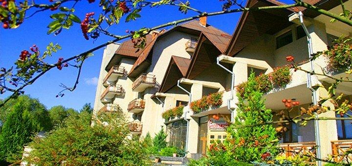 От 3 дней отдыха All Inclusive весной для двоих в пансионате «Славский» во Львовской области