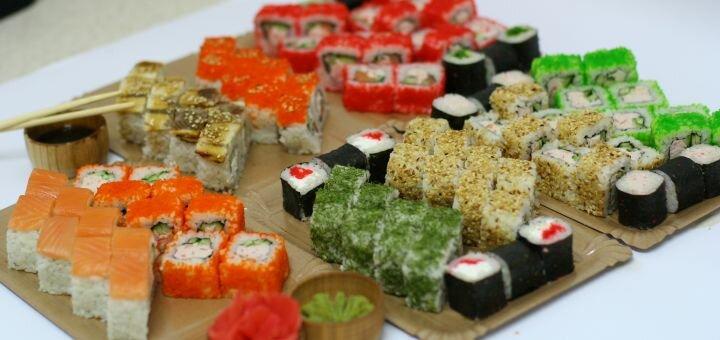 Скидка 54% на суши-сет «Королевский дракон» в сети магазинов «Суши Сет»
