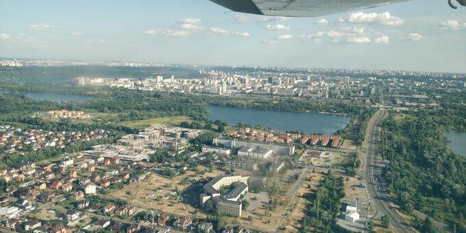 Скидка 25% на полёт над Киевом на самолете «Cessna 182» с аэродрома Чайка от «Полетели с нами»