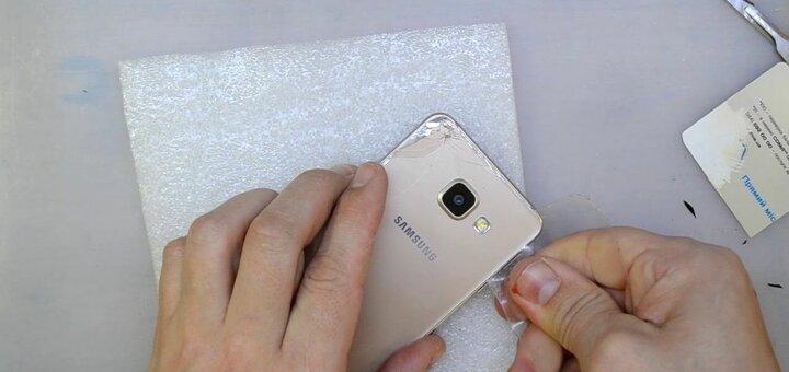 Скидка 10% на замену стекла для Samsung от «ServiceinUa»