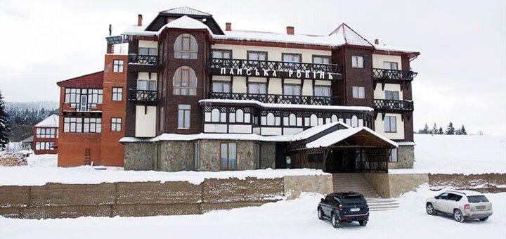 От 3 дней отдыха с трехразовым питанием в отеле «Панська Ровінь» во Львовской области