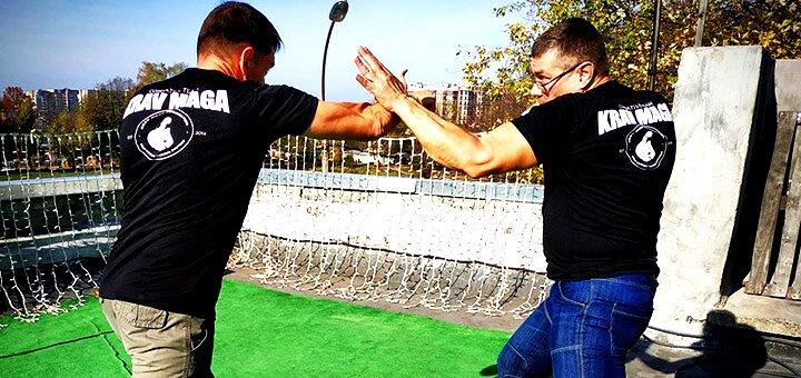 До 24 тренувань з реальнї системи самооборони або спортивного ножового бою в «Krav Maga Lviv»