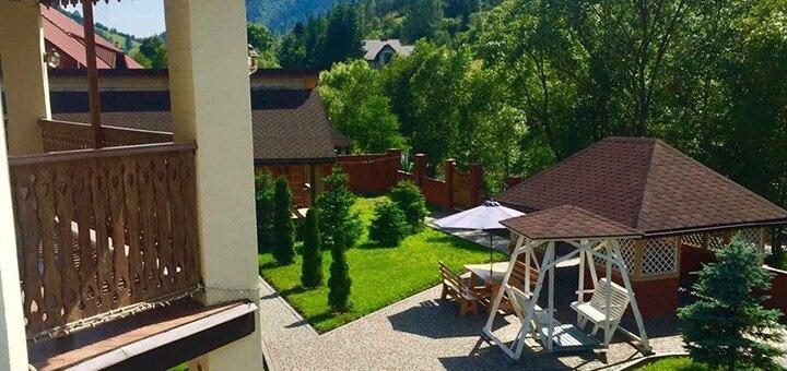 От 3 дней отдыха All inclusive летом в отеле «Золотая подкова» в Славском